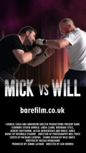 iPhone 5 Mick vs Will Wallpaper